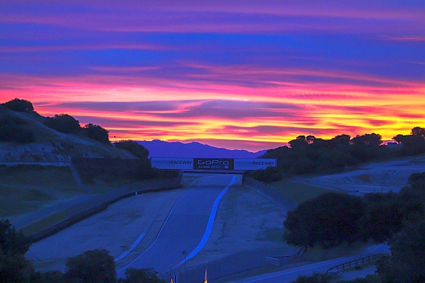 Camping at Laguna-Seca - A great way to enjoy the event.